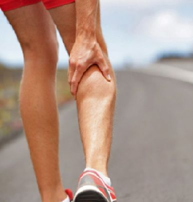 A muscle cramp is a painful contraction or tightening of a muscle. Usually it occurs in the legs. Leg cramps commonly occur in the calf and hamstrings, but sometimes may occur in the thigh or foot.