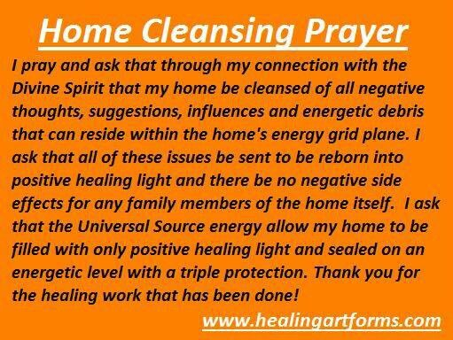 54 best images about house blessings and smudging on Cleansing bad energy from home