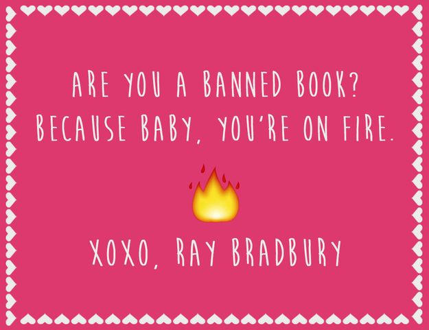 Hilarious Literary Valentine's Day Cards: