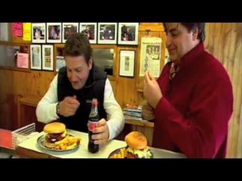 Matt Preston search for Melbourne's best burger - YouTube