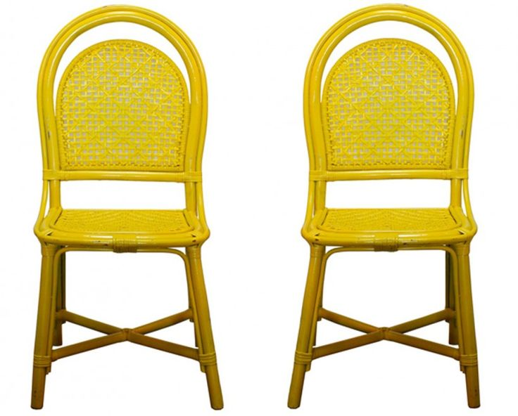 Furniture Vintage Yellow Side Chairs Good For Corner Room Stunning With Fetching Your Living Decorations