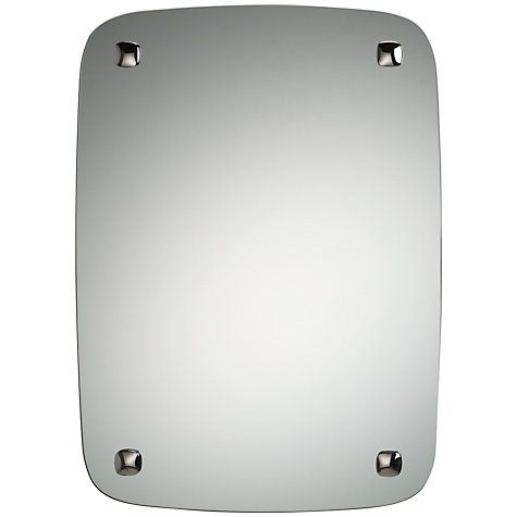 Buy Robert Welch Burford Wall Mirror, Silver Online at johnlewis.com