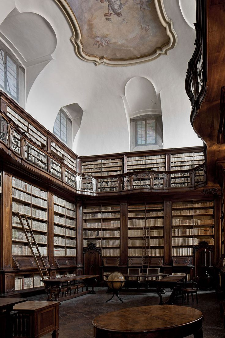 Laudense Library by Michele De Lucchi | http://www.yellowtrace.com.au/lusty-libraries/