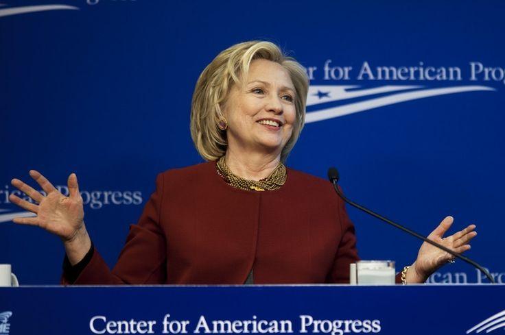 Hillary Clinton launches presidential bid