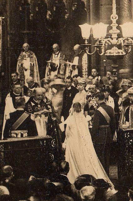Wedding of The Duke of York with Lady Elisabeth Bowes Lyon 1923