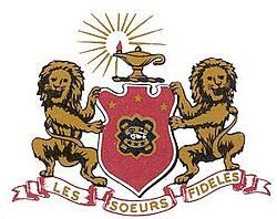 Phi Mu Crest #PhiMu #Sorority #Crest #Greek