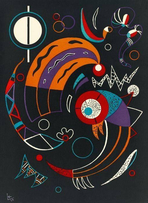 """Wassily Kandinsky – Comets, 1938 """