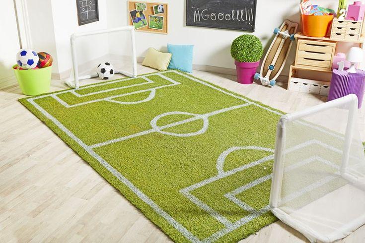 Paso a paso: Un campo de fútbol en casa Publicado por SamiraSaleh por leroy merlin