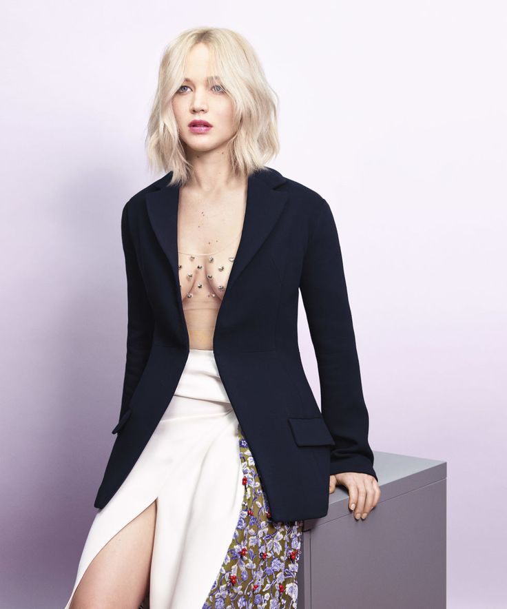 Jennifer Lawrence Harpers Bazaar Interview - Jennifer Lawrence Talks X Men, the Wage Gap In Hollywood and Body Issues