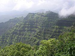 View of Mahabaleshwar Hills