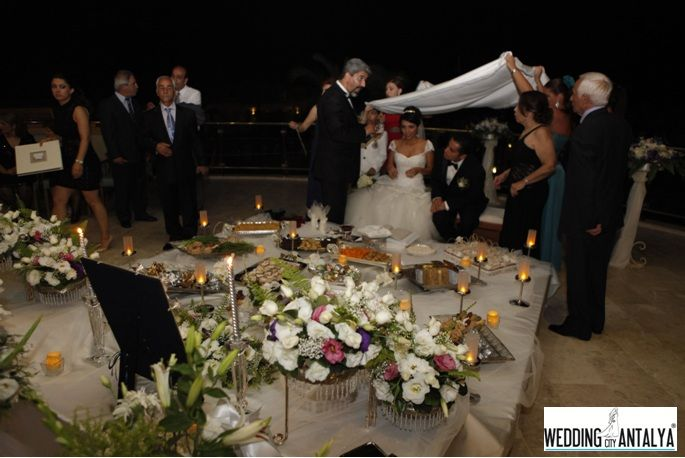 iranian persian wedding antalya Turkey, Sofreh aghd ceremony. Find out more...