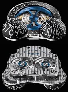 Maximilian Busser crafted this HM3 watch