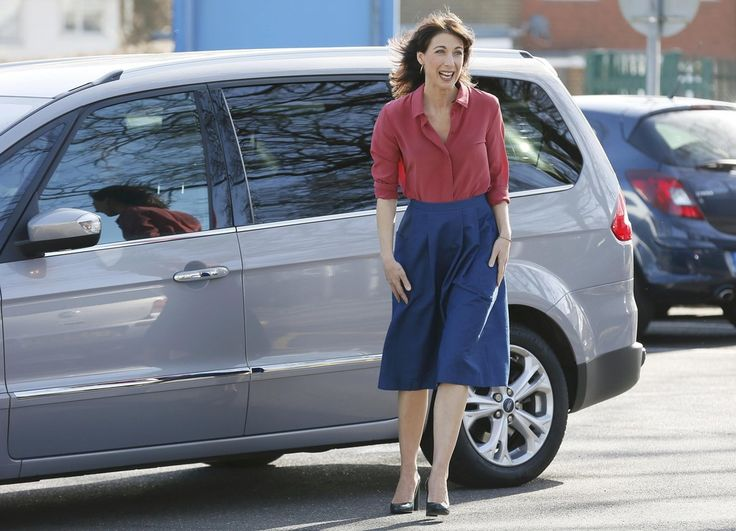 Samantha Cameron Photos - Samantha Cameron On The Campaign Trail For The Conservative Party - Zimbio