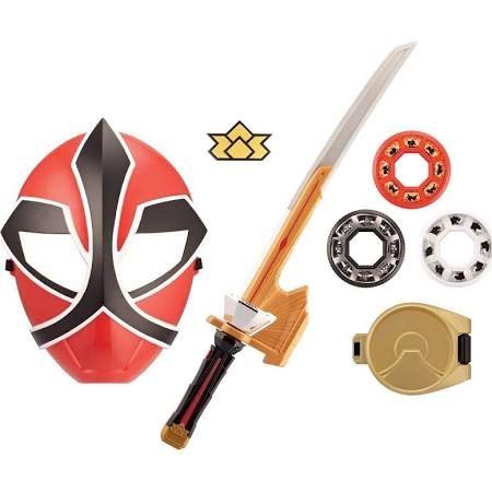 Power Rangers Samurai Fire (Red) Ranger Training Gear (Version 2)