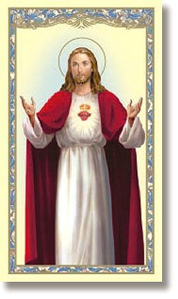 Sacred Heart (Anima Christi) Holy Card | My Brother's Keeper Catholic Gift Shop