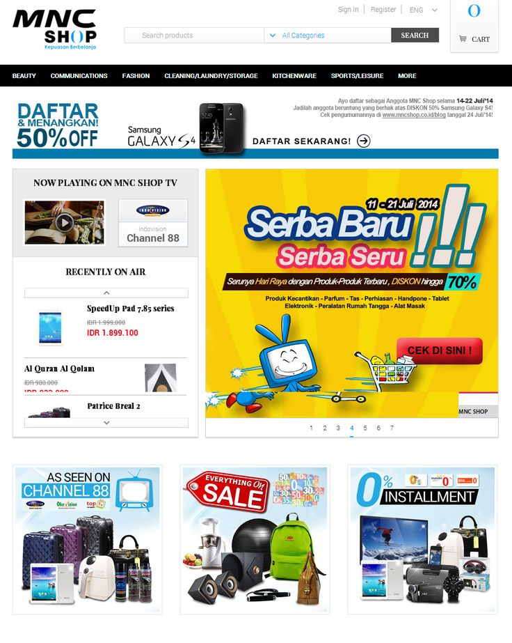 MNC Shop siap ramaikan dunia digital di Indonesia #mncshop