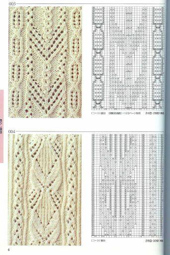 Kira knitting: Knitted pattern no. 53