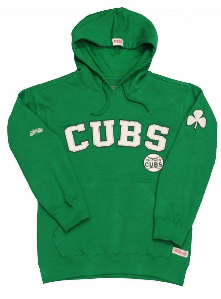 Chicago Cubs Green Pullover Hoodie by Stitches | Sports World Chicago $44.95  @Chicago Cubs #ChicagoCubs