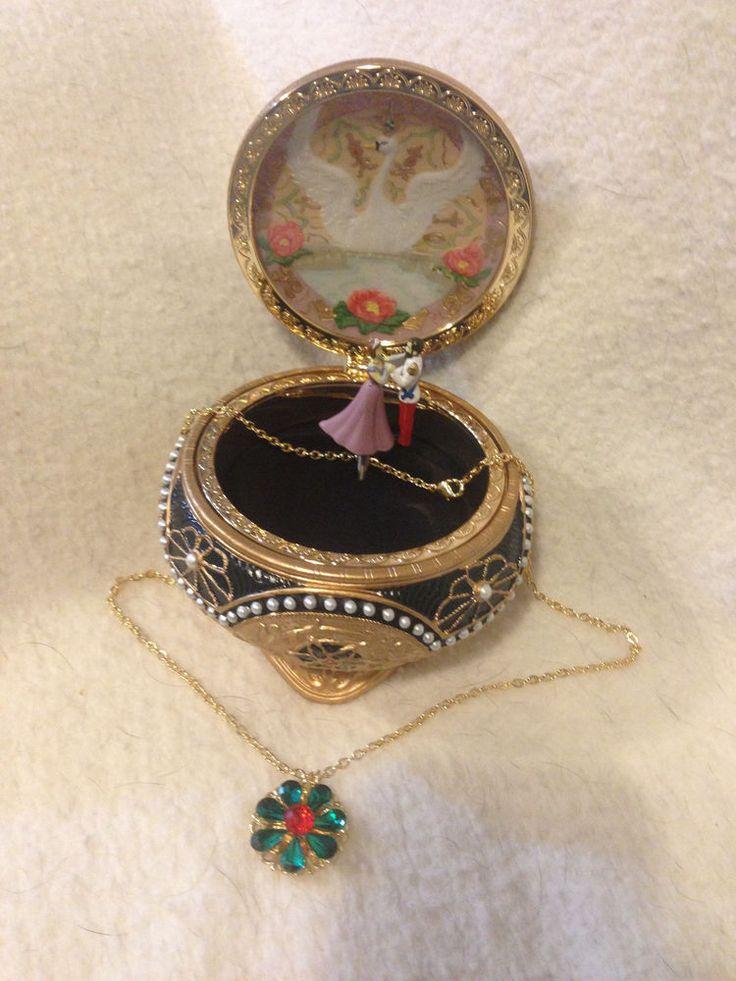 Nicholas & Alexandra Anastasia Trinket Box w/ Necklace