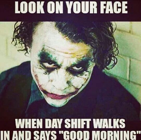 I remember feeling this way sometimes when the cheery morning dealers would tap me out ;-)