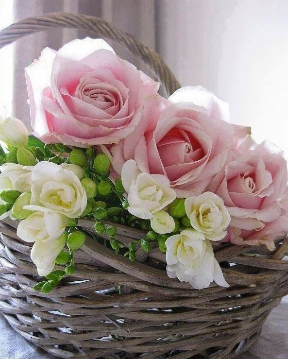 Flower basket ...♥♥....