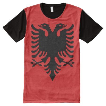 Albanian National flag Shirt - click to get yours right now!