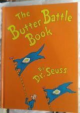 The Butter Battle Book 1984 Dr. Seuss HB Turtleback Children's Book of Year