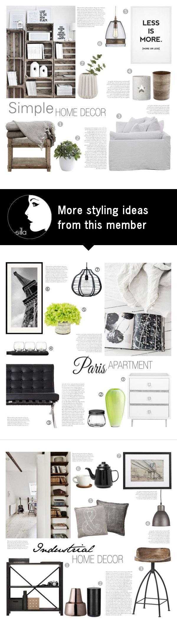 """""""Simple Home Decor"""" by c-silla on Polyvore featuring interior, interiors, interior design, home, home decor, interior decorating, Nearly Natural, Crate and Barrel and Bloomingville"""