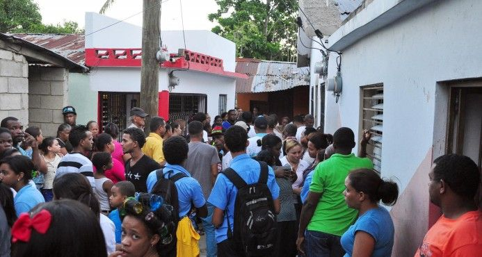 Sector De Santiago Entristecido Por Asesinato De Gerente De Un Centro De Llamadas