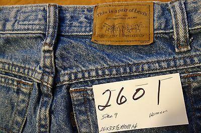 #2601 Levi's 900 Series Original 100% cotton women jeans size 9