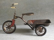 Vintage Red Tricycle From Les Petits Bohemes