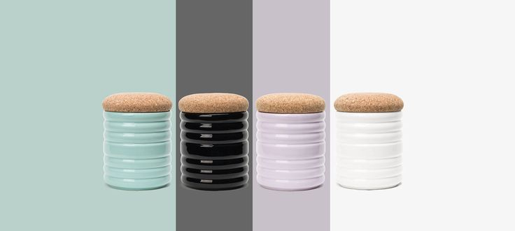 Bussulot ceramic container on Behance
