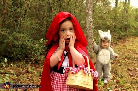 Little Red Riding Hood  & Big Bad Wolf Costumes - Sibling costumes