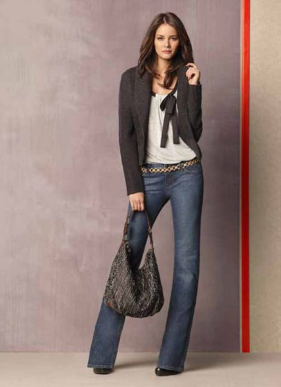 LOFT by Ann Taylor 2011 Fall Collection: Designer Denim Jeans Fashion: Season Lookbooks, Ad Campaigns and Linesheets