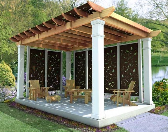 65 Best Images About Pergola Gazebo Furniture Ideas