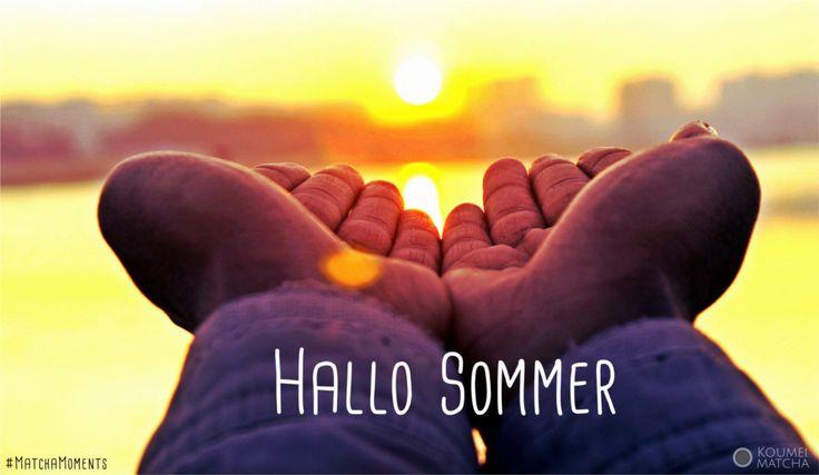 Wir begrüßen den #Sommer, denn heute ist #Sommeranfang! MatchaMoments von Koumei Matcha, gefunden im Matcha Blog: http://www.koumei-matcha.de/blog/