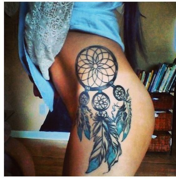 Tatuajes De Atrapasueñosespalda Piernacostillas Tatuajes
