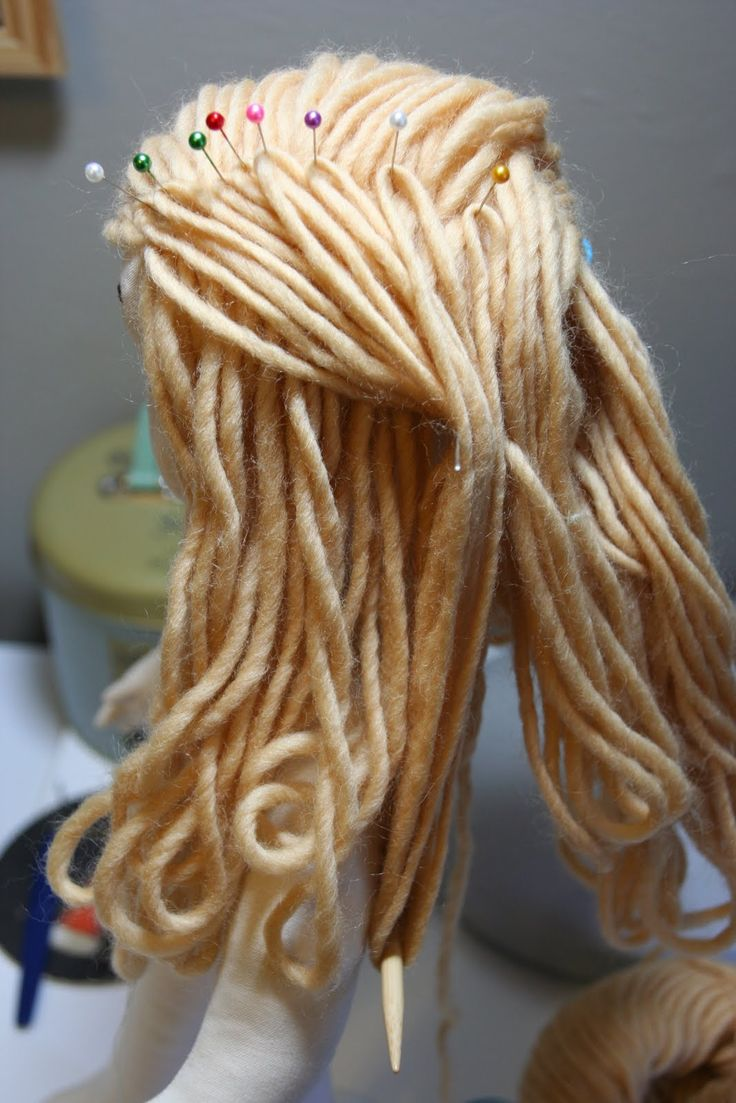 yarn doll hair
