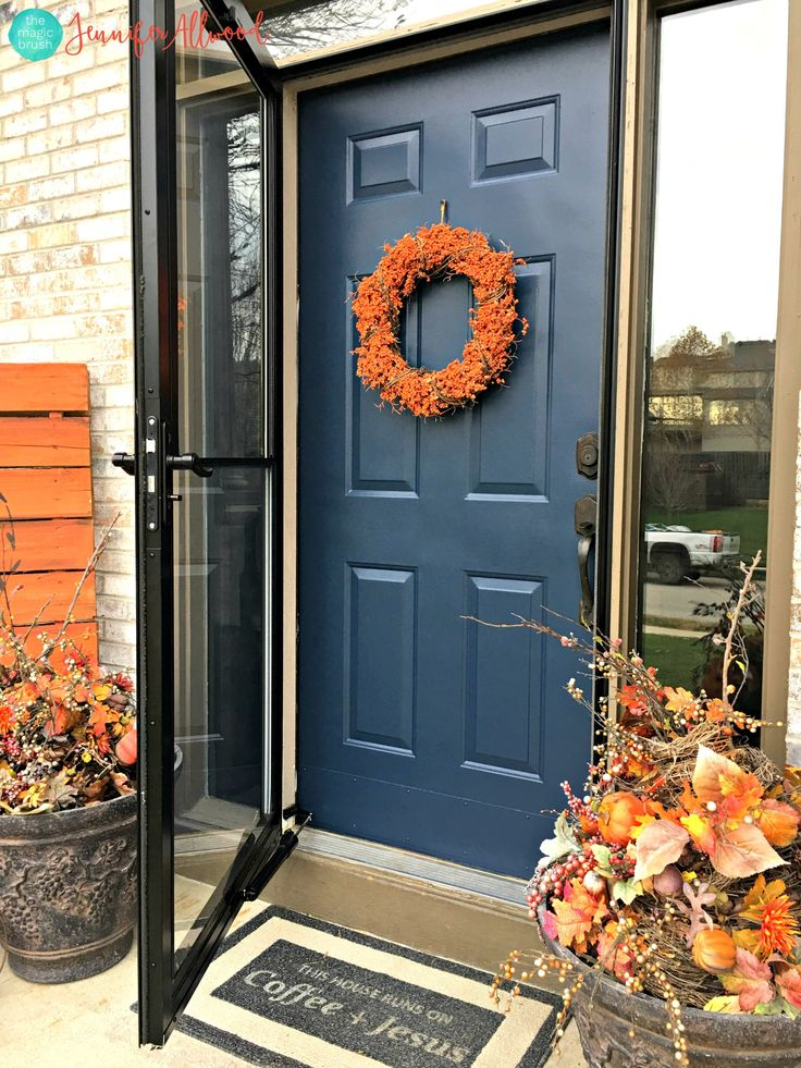 Fast DIY Painted Front Door and Door Paint Suggestions & 246 best Front Door Paint | Projects images on Pinterest | Modern ... pezcame.com