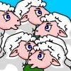 Find the Black Sheep Game Online. Find the wolf which is dressed as a sheep. Play Free Find the Black Sheep Web Game.