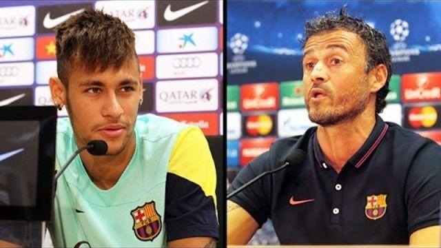 SportsDezk's blog.: Luis Enrique defends Neymar