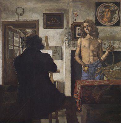 Ο ζωγράφος με το μοντέλο του (1979)