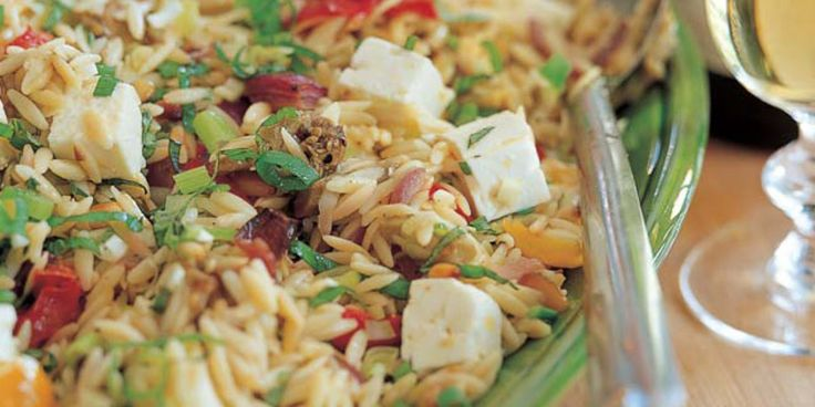 Ina Garten's Go-To Side Dish Orzo with Roasted Vegetables   – Side Dishes