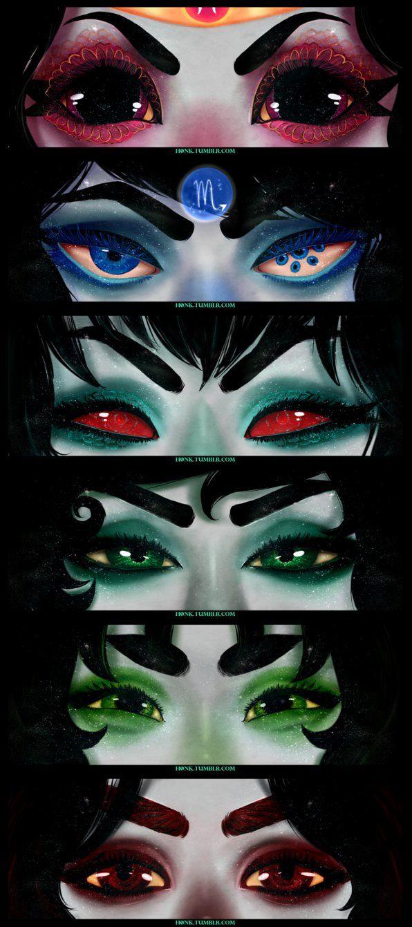 Alterian eye headcanon's
