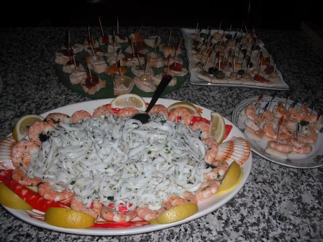 Fish appetizer/Antipasto di pesce