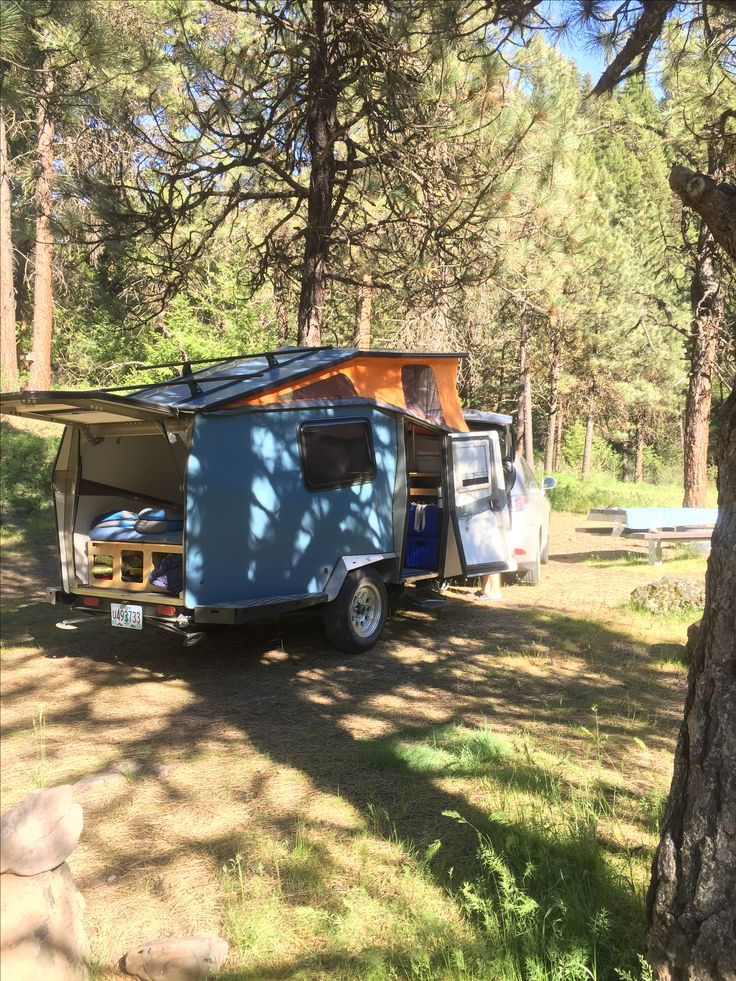 Driftwood Campground North Fork John Day River, Oregon