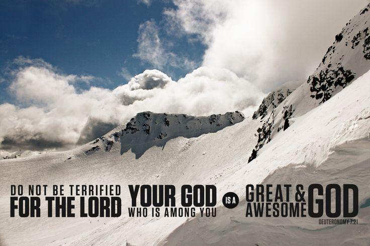 Deuteronomy 7:21: Prayer, Inspiration, God Is, Bible Scriptures, Beautiful Scriptures, Awesome God, Favorite Scriptures, Deuteronomy 7 21, 171 365 Awesome