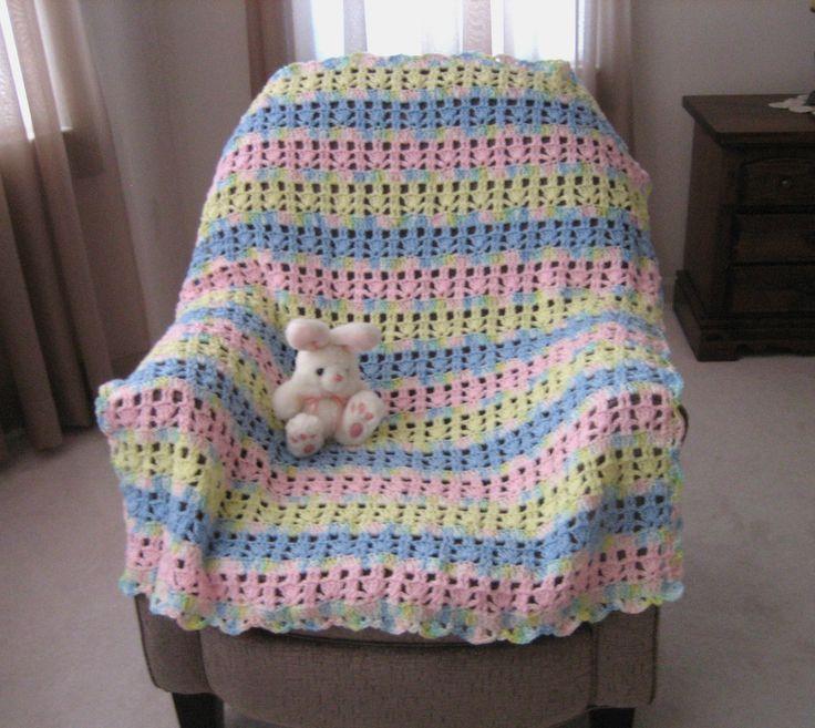 Perfecto Crochet Patrones Afganos Pdf Gratis Cresta - Ideas de ...