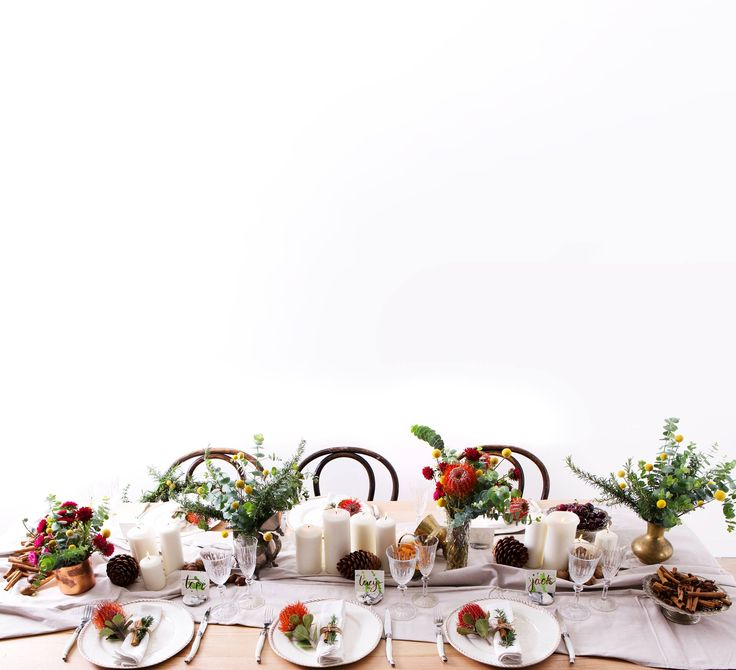 Party styled table. Centerpiece ideas.
