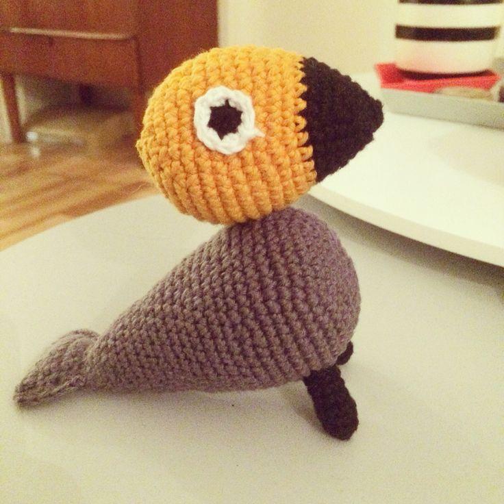 Sangfugl #crochet #hækling